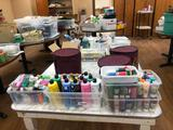 Lots of Paints, Water Colors, Markers, Paint Supplies and Art Supplies