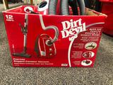 Dirt Devil 12amp Express Bagged Canister Vacuum