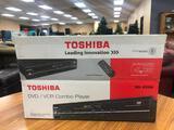 Toshiba DVD - VCR Combo w/ Remote, Manual, Box
