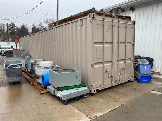 40 Foot Sea Land Cargo Container