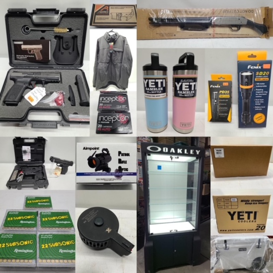 Gun, YETI & Oakley Dealer Liquidation - April 11th
