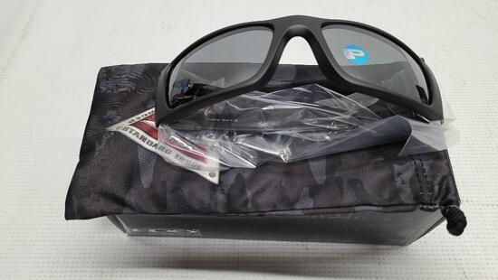 Oakley Polarized Sunglasses Fuel Cell 9096-B3 SI Cerakote, Graphite Black