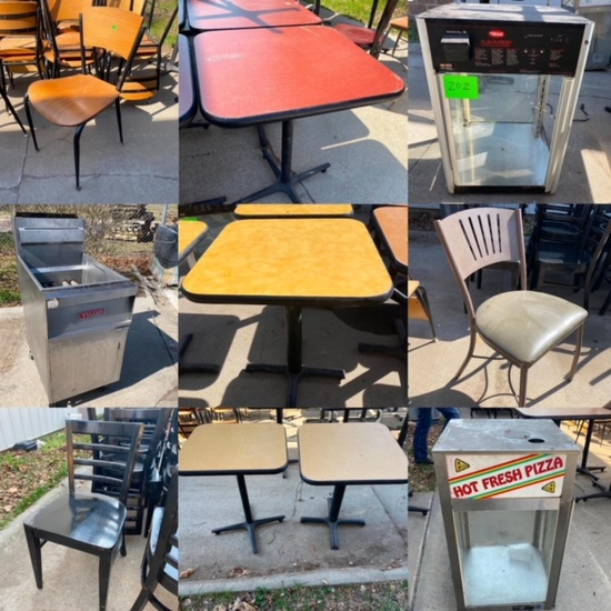 Quick Restaurant Furniture, Fryer, Warmers Omaha