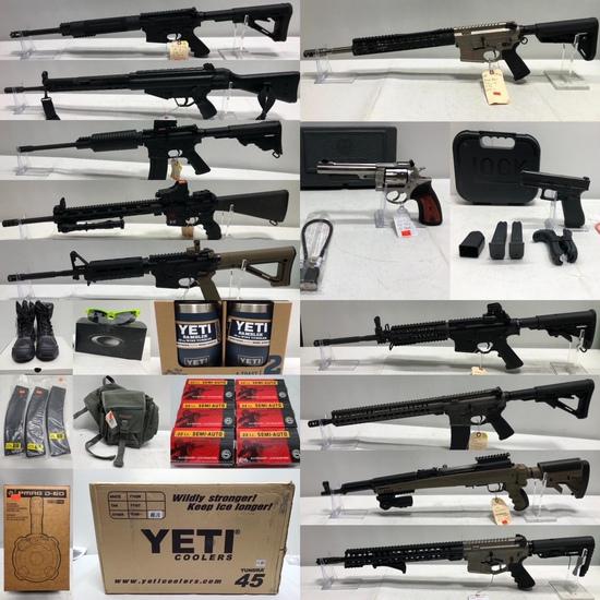 Gun Store Liquidation, ARs, Mags, Armor, YETI 4/18