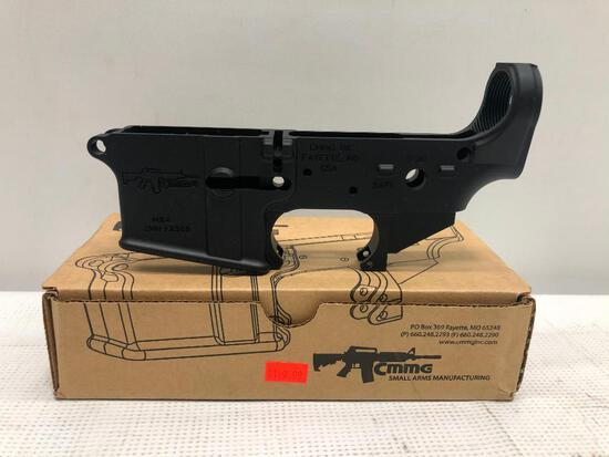 CMMG SKU:55CA101 MK4 SN: SWU12380 Lower Receiver AR-15 Black, MSRP:$149.99