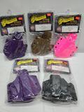 (5) Voodoo Tactical Kydex Belt Holsters - (3) Glock 34/35 - Purple, Coyote, Pink, (1) Glock 21/20 -