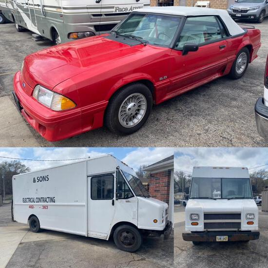 Information Only - Do Not Bid - Live Auction with Simulcast Bidding for Vehicles - Live Onsite Thurs