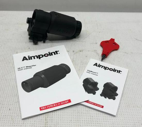 Aimpoint 200342 C/Flip Mount 39mm w/ TM Base SN: 9149C07979