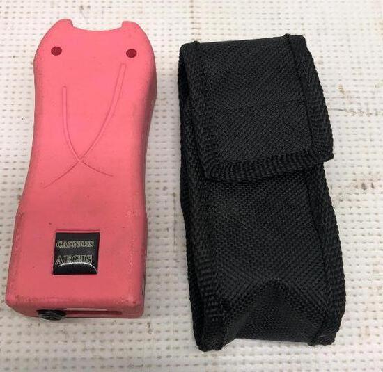 Canniks AEGIS Stun Gun Pink - Pre-Owned
