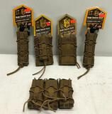 (5) HSG Magazine Pouches Taco Rifle Mag, Double Decker Taco LT, (2) Extended Pistol Taco LT & Triple