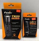 (2) Fenix Flashlights - TK09 450 Lumens & LD11 300 Lumens