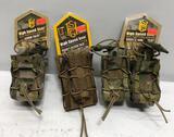(3) HSG Mag Pouches - Double Decker Taco LT, Double 40mm Taco & 40mm Taco