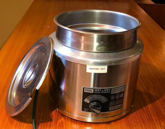 Medalie Wet/Dry Food Warmer Model SS 7