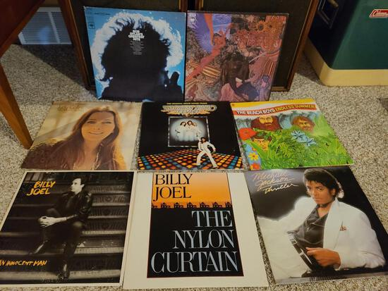 Group of 33rpm Records, See Pictures for Artists