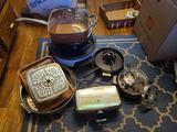 Small Kitchen Appliances, Copper Pan, Misc. Kitchen Supplies