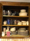 Plates, Dishes, Glasses, Misc.