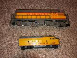 Gilbert No. 372 and 1467 Union Pacific Locomotive and Tender, HO Scale