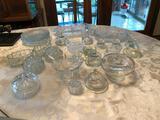 Group of Crystal/Glass Dinnerware