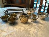 Group of Silver Tableware - Baroque by Wallace, Gotham, etc.