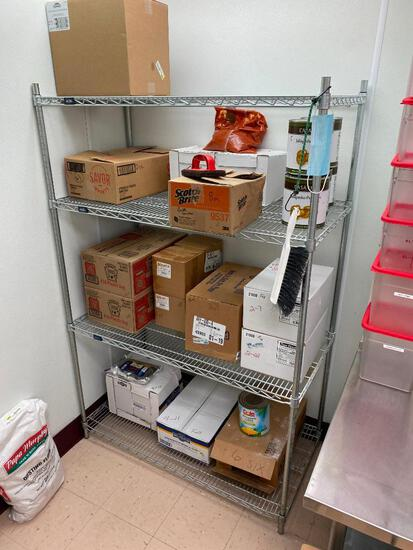 Dunnage Shelving and Wall Mount Shelves