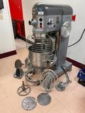 Hobart Model P660 - 60 Quart Stand Mixer w/ Cage, Bowl, Dolly, Slicer & Shredder Attachment, Dough