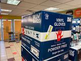 Full Case (1,000) Vinyl Gloves, Powder Free, Size M by Value Gard, 10 Boxes of 100