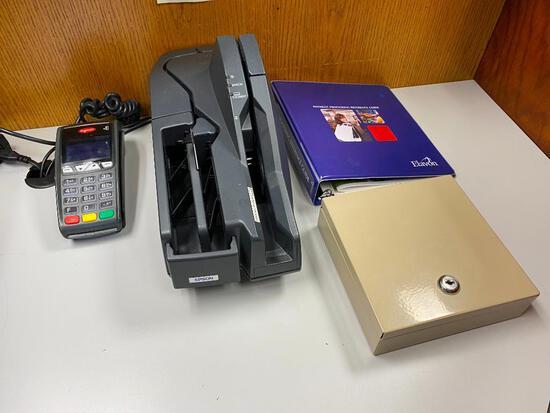 EPSON Model: M236A Check Reader, ingenico iCT250 Card Reader, Cash Drawer (no key)