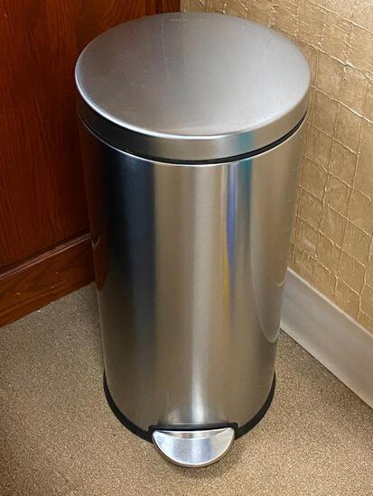 SimpleHuman Stainless Steel Foot Control Trash Can