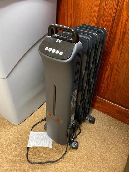 Sai Model CY83RR-7 Oil-Filled Radiator Electric Heater