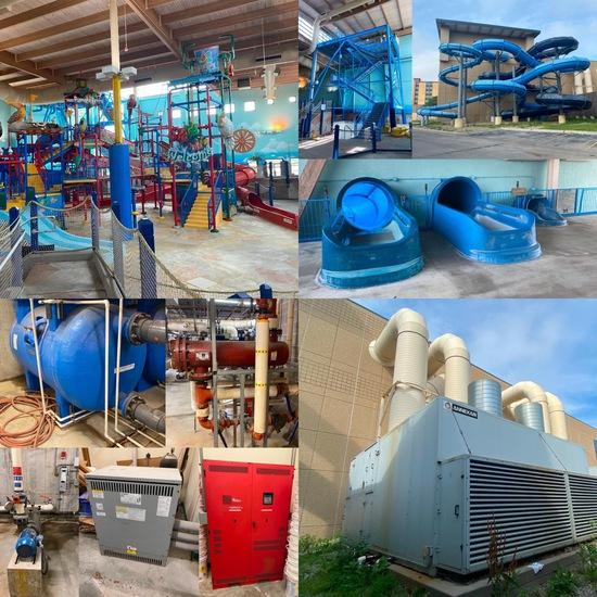 Indoor Water Park Complex, CoCo Key Omaha, NE