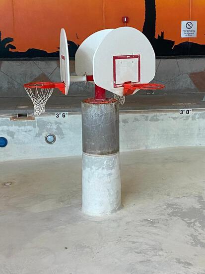 Triple Basketball Hoop Platform