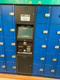 Locker Storage Unit with Digital Merchant Touch Screen & Payment Acceptor