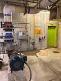 Water Park Filtration Pump Starter, Air Filtration Suction Pump, Marathon 3ph Motor, UV Chamber, ETS