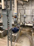 Air Filtration Suction Pump, Neptune Benson Guardian Flow Strainer, GE 300-Line Control, Flowmeter