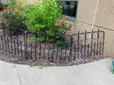 Metal Garden Fencing Panels, ea Panel 32in x 24in H, 19 Total Panels