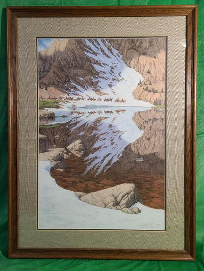 """""""Season of the Eagle"""" by Bev Doolittle, Signed & Numbered 23012/36548 30 3/4"""" x 21"""""""
