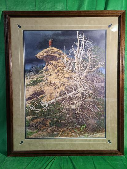 """""""Prayer for the Wild Things"""" by Bev Doolittle, Signed & Numbered 14012/65000 21"""" x 28"""""""