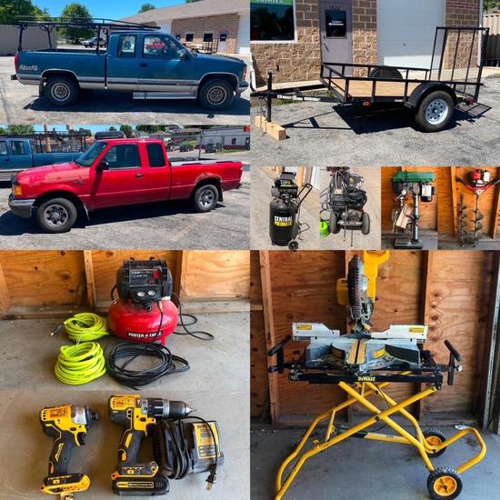 Trucks, Trailer & Contractor Tools - Omaha