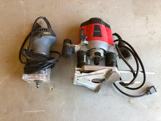 HD Plunge Router & Laminate Trimmer Router
