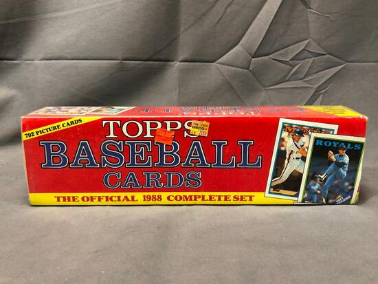 Topps Baseball Cards - The Official 1988 Complete Set - 792 Picture Card - Factory Sealed