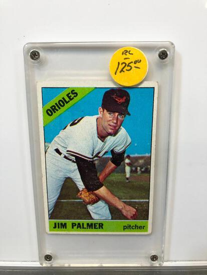 1966 Topps #126 Rookie Card Baltimore Orioles Jim Palmer Pitcher