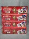 (4) 1992 Donruss Major League Baseball Exclusive