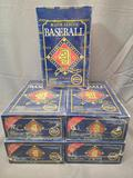 (5) 1992 Donruss Major League Baseball Exclusive