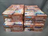 (4) 1994 Fleer 720 Card Basic Sets - (1) Open Box & (3) Factory Sealed
