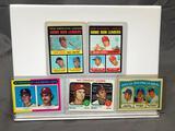 Lot of 5; Baseball Leaders' Cards - 1970 AL & NL Home Run Leaders, 1971 AL Battling Leaders, 1972 &