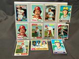 Lot of 11; Assorted Topps Baseball Cards - See Pictures