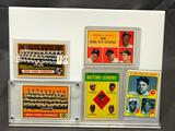 Lot of 5; Assorted Topps Baseball Cads - All Time Home Run Leaders #1 And More - See Pictures