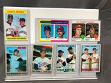 Lot of 7; Assorted Topps Baseball Cards - See Pictures