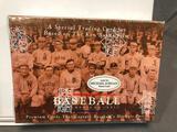 (2) 1994 MLB Trading Card Set Based on Ken Burns Film - Premium Cards that Capture Baseball's