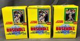 (3) SCORE 1990 Major League Baseball Wax Packs - (16) Player Cards & (1) Magic Motion Trivia Cards